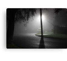 Mist Over Suburbia Canvas Print