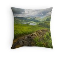 Grasmere Lake from Loughrigg Fell Throw Pillow
