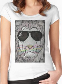 Lion cool  Women's Fitted Scoop T-Shirt