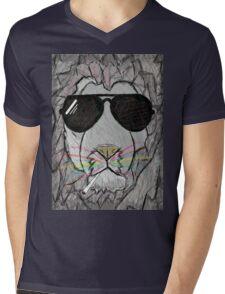 Lion cool  Mens V-Neck T-Shirt