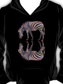 Rainbow Zebras T-Shirt T-Shirt