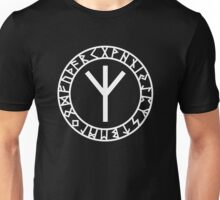 Algiz Rune - Connection with Asgard / Protection Unisex T-Shirt