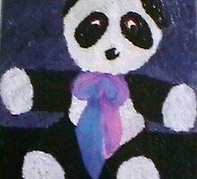 Alla Prima Panda by Karen Fernandez