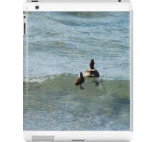 Surfing Ducks iPad Case/Skin