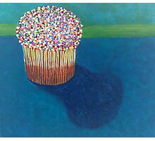 Cup Cake Photographic Print