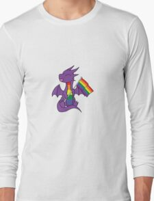 Baby Pride Dragons - Gay Long Sleeve T-Shirt