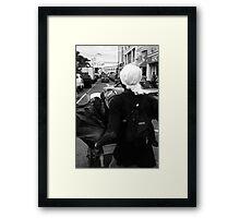 St Vincent man  Framed Print