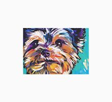 Yorkie Yorkshire Terrier Bright colorful pop dog art Unisex T-Shirt