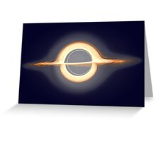 Black hole, Portal, Infinity, Universe, Outer Space, Star Greeting Card