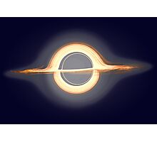 Black hole, Portal, Infinity, Universe, Outer Space, Star Photographic Print