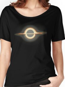 Black hole, Portal, Infinity, Universe, Outer Space, Star Women's Relaxed Fit T-Shirt