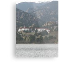 Stanley Hotel - The hotel where the movie THE SHINING was filmed Metal Print