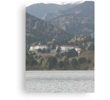 Stanley Hotel - The hotel where the movie THE SHINING was filmed Canvas Print