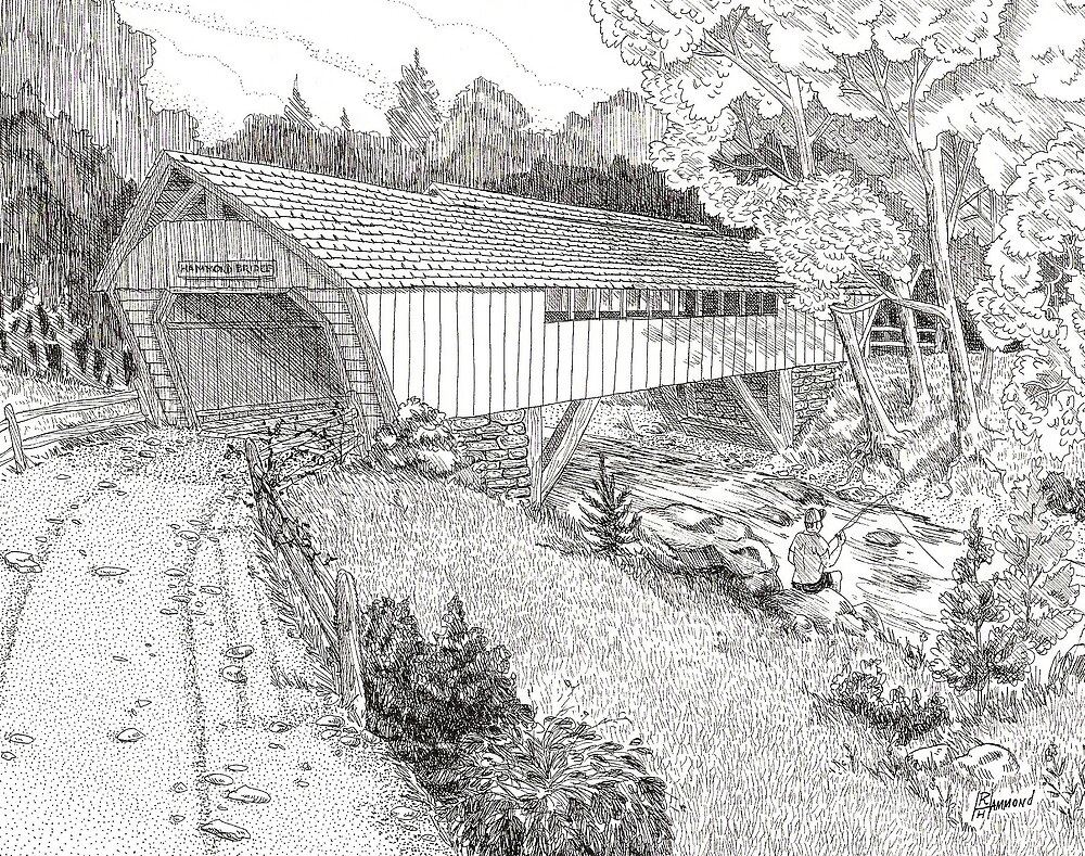Covered Bridge by BobHenry