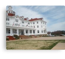 Stanley Hotel - Location of THE SHINING upclose and personal Canvas Print