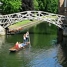 Mathematical Bridge, Cambridge by Mike Paget