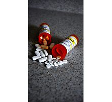 Meds Photographic Print