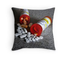 Meds Throw Pillow