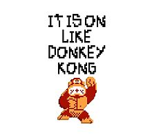 Donkey Kong by holyreaper