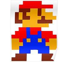 Super Mario Bros Pixel Poster