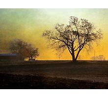 Daybreak on the Farm Photographic Print