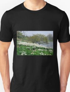 Field of White Daffodils T-Shirt