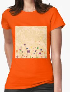 Summer Meadow Womens Fitted T-Shirt