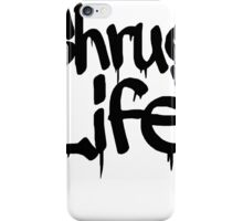 Shrug Life: Apathy Apathetic Whatever iPhone Case/Skin