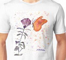 Butterfly Fuchsia Unisex T-Shirt