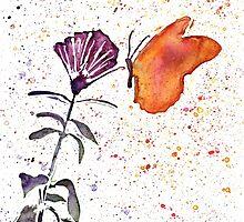 Butterfly Fuchsia by DReneeWilson