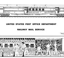 Railway Postal Car by BobHenry