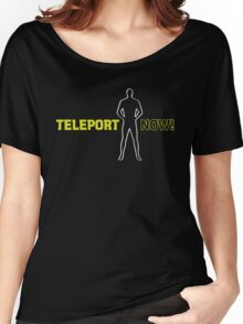 Blake's 7: Teleport Now! Women's Relaxed Fit T-Shirt