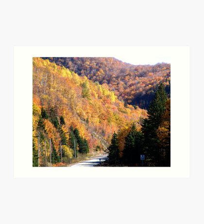 Autumn Splendor-Cabot Trail Art Print