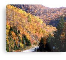 Autumn Splendor-Cabot Trail Metal Print