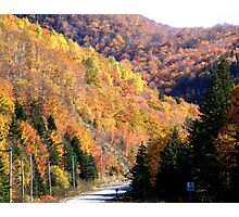 Autumn Splendor-Cabot Trail Photographic Print