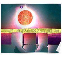 Alien Sunrise Poster