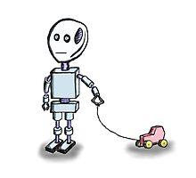 Robot Child by fleros