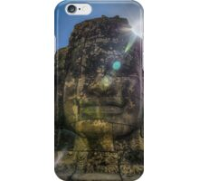 Sun over Buddha iPhone Case/Skin