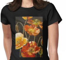 Poppies Too (for Lea Durham) Womens Fitted T-Shirt