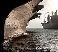 USS Hornet by Sarah Van Geest