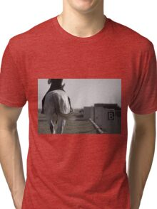 Riding lesson Tri-blend T-Shirt