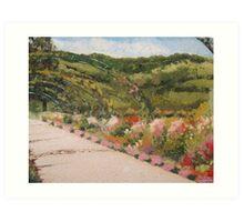 Monet's Garden at Giverny Art Print