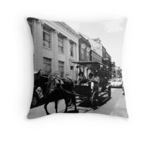 French Quarter, New Orleans Throw Pillow