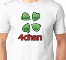 4chan logo for anon's Unisex T-Shirt