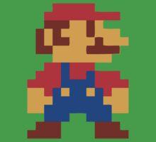 Super Mario Bros Pixel Kids Clothes