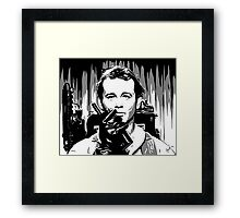 I think he can hear you Ray Framed Print