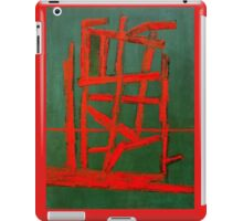 RED LINE OR FIRE iPad Case/Skin