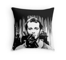 I think he can hear you Ray Throw Pillow