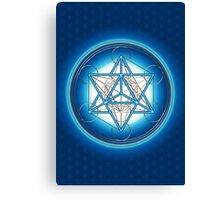 MERKABA - METATRONS CUBE - SACRED GEOMETRY Canvas Print