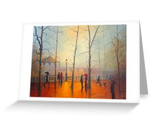 Winter In Madrid Greeting Card